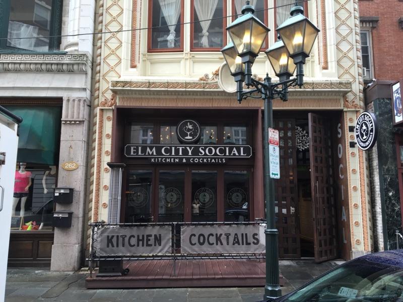 Elm City Social formerly Briq restaurant